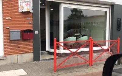 Nouvelle vitrine à Queue-du-Bois (Liège)