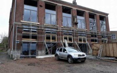 Nouveaux châssis à Saint-Nicolas (Liège) – Rénovation d'un loft
